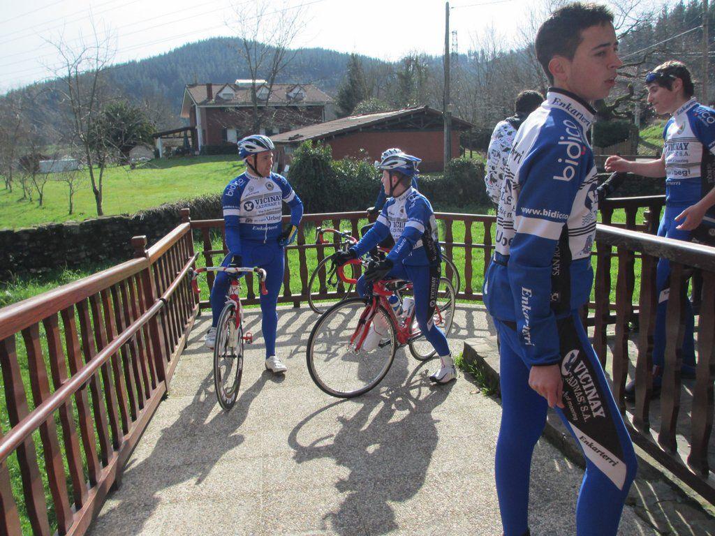 Jonathan, Iker, Javi y Adrian