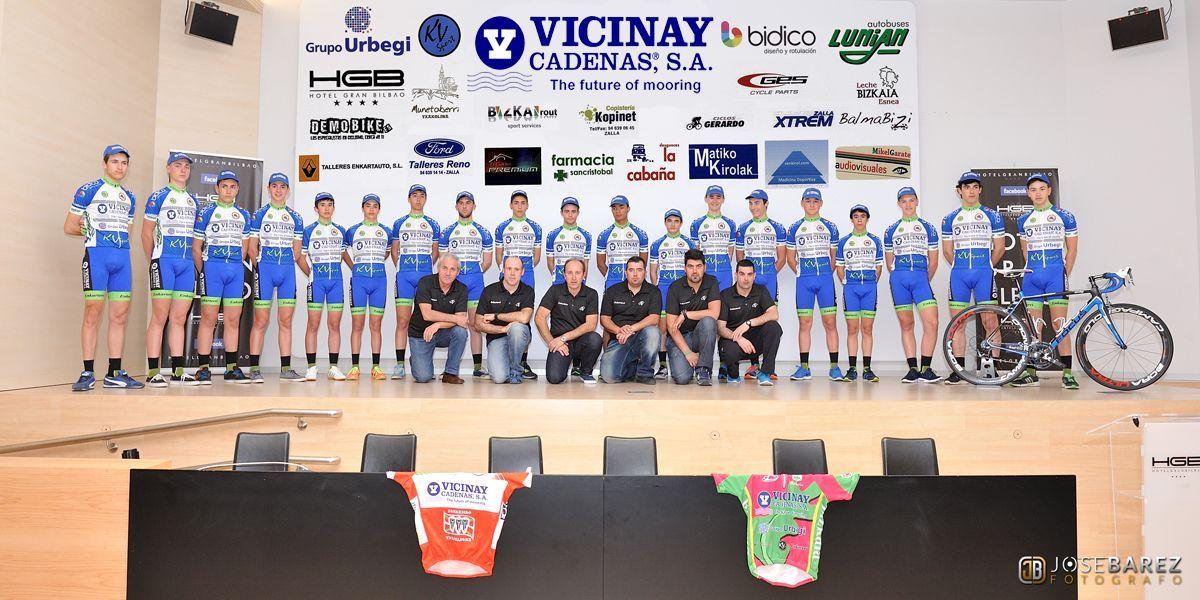 Presentación de equipo 2015