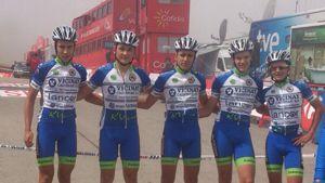 Vicinay Cadenas-Lancor en la Vuelta 2015