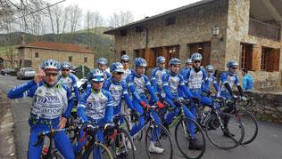 Concentración del equipo ciclista VICINAY CADENAS-LANCOR-MENDIETA