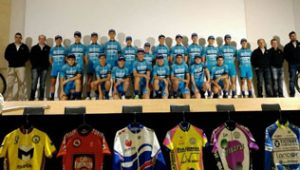 Presentación equipo ciclista VICINAY CADENAS-LANCOR-MENDIETA