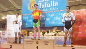 Iker Azpitarte se ha proclamado campeón de España de Pista