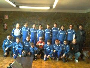 Concentración equipos en Güeñes 2013