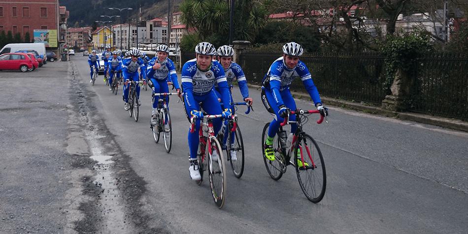 Training camp Vicinay Cadenas-A.D Enkarterri 2014