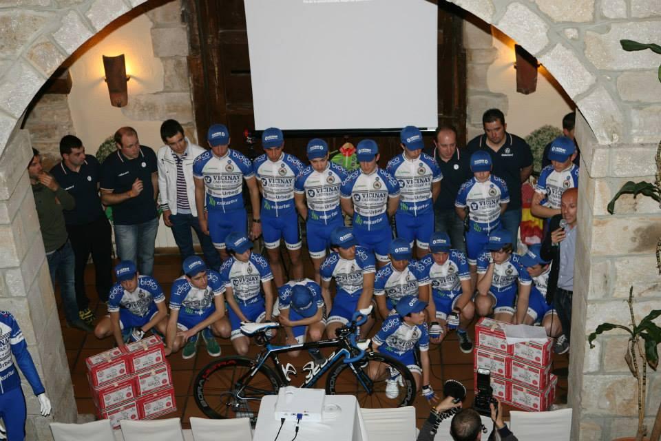 Presentación equipo Vicinay Cadenas-A.D Enkarterri 2014