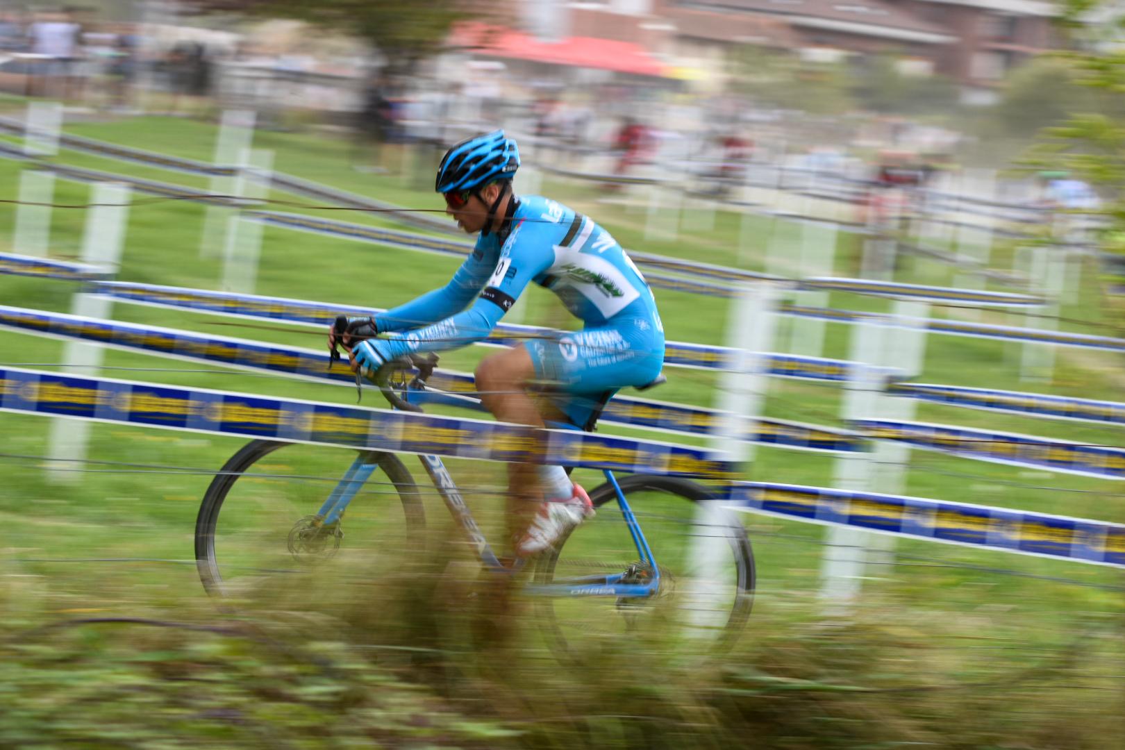 La primera de ciclo cross